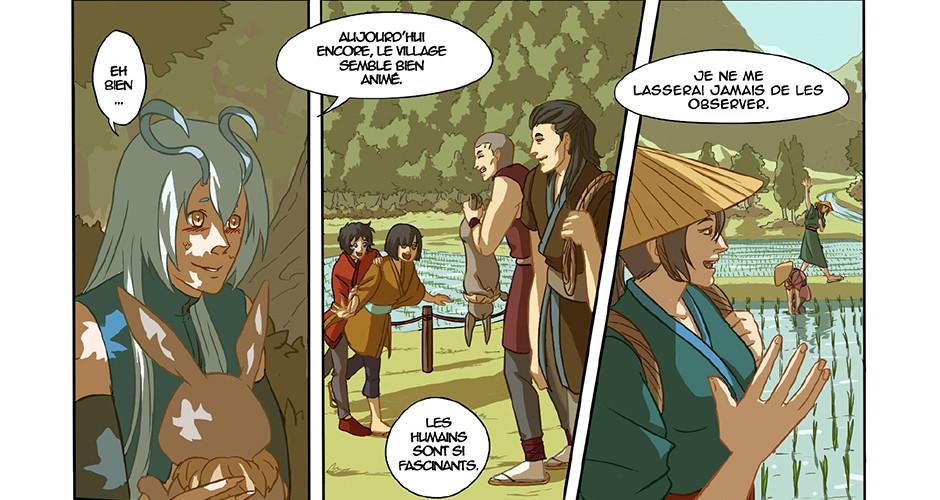 projet école bande dessinée : Les larmes du Dragon Sacré