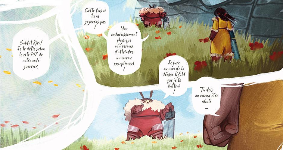 projet école bande dessinée : Beyond