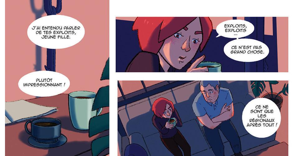 projet école bande dessinée : Améthyste - Planche 2