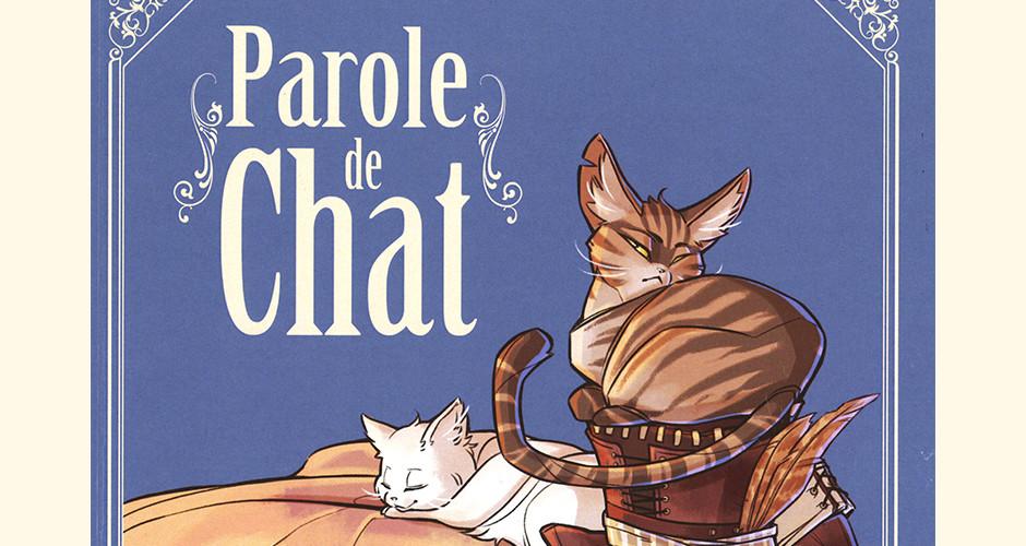 projet école bande dessinée : Parole de chat - Couverture