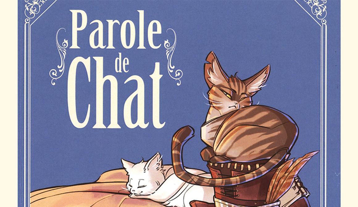 Parole de chat - Couverture : projet bachelor spécialisation illustration / bd