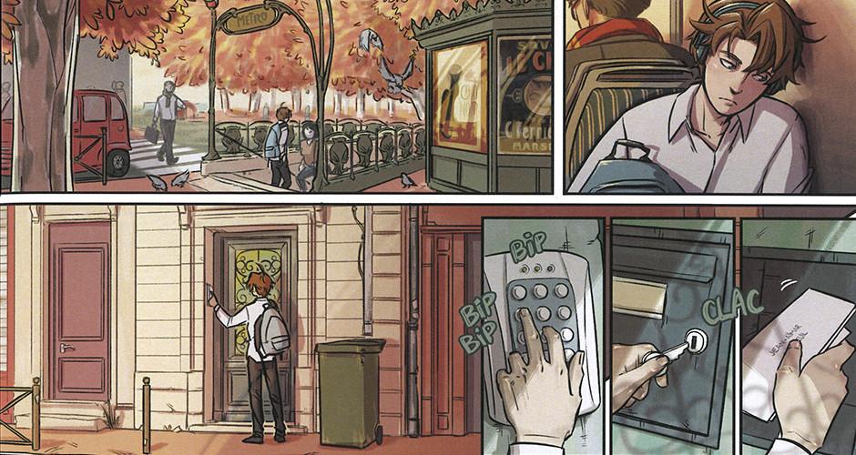 projet école bande dessinée : Parole de chat - Planche