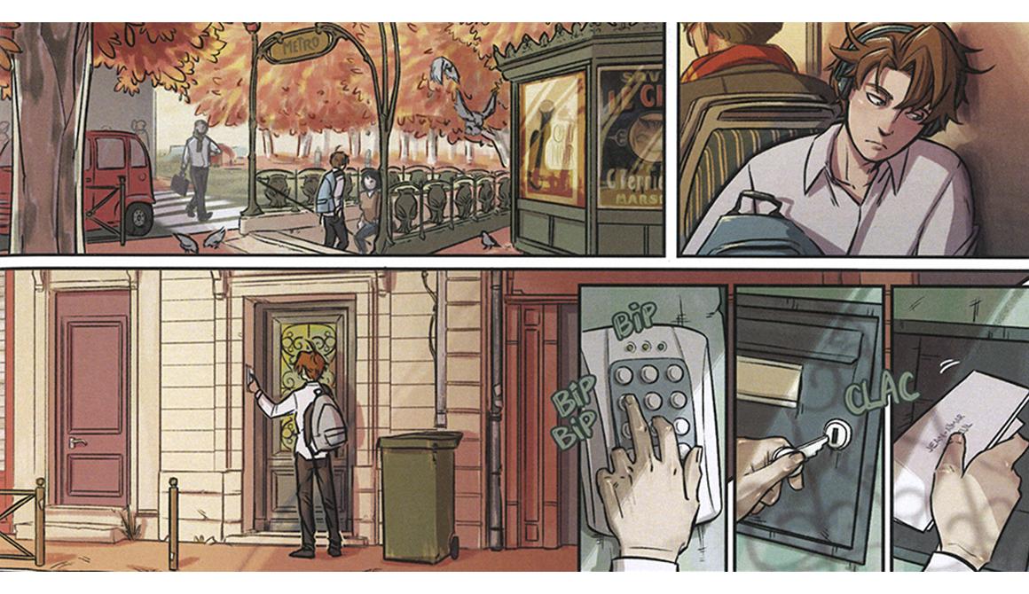 Parole de chat - Planche : projet programme arts graphiques illustration - bachelor spécialisation illustration / bd