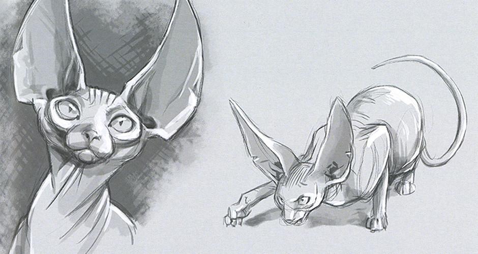 projet école bande dessinée : Parole de chat - Recherches