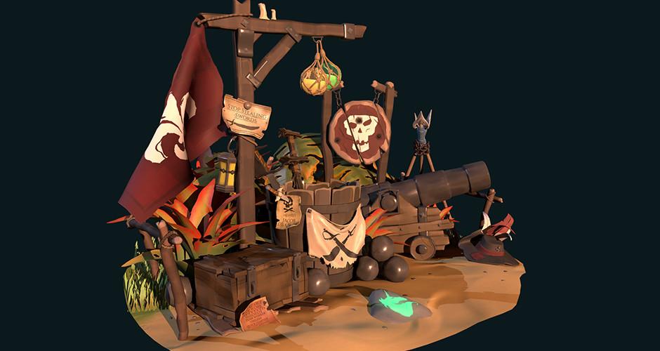 projet école jeux vidéo : Pirate universe