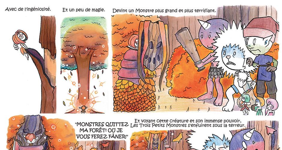 projet école bande dessinée : Behind the scene