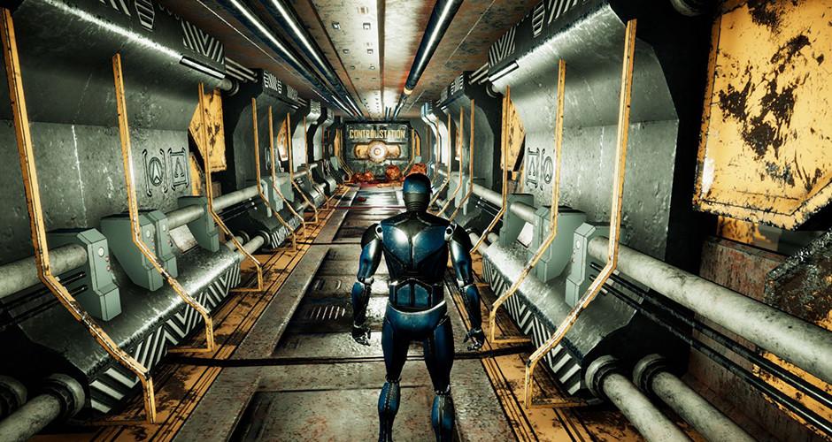 projet école jeux vidéo : Evasion Scifi