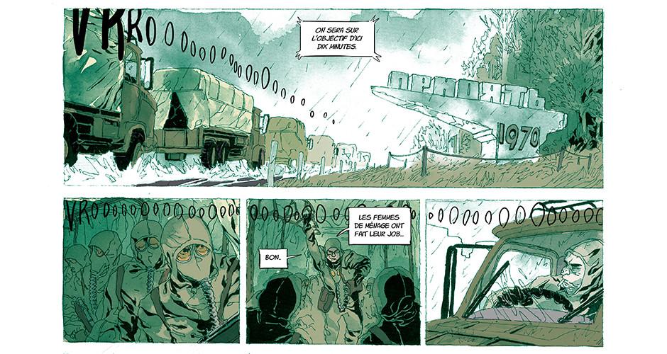projet école bande dessinée : Likvidator