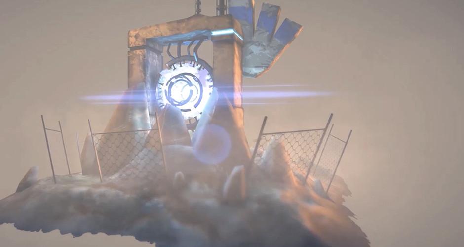 projet école jeux vidéo : Ruines Scifi