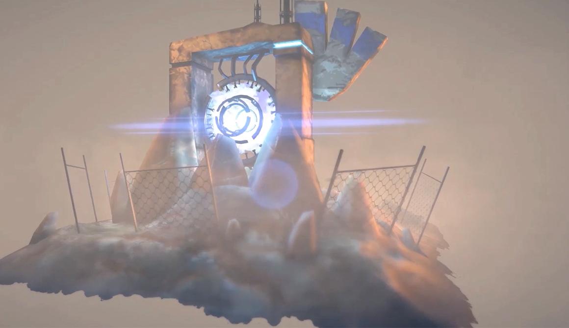 Ruines Scifi : projet bachelor réalisateur animation 3d vfx