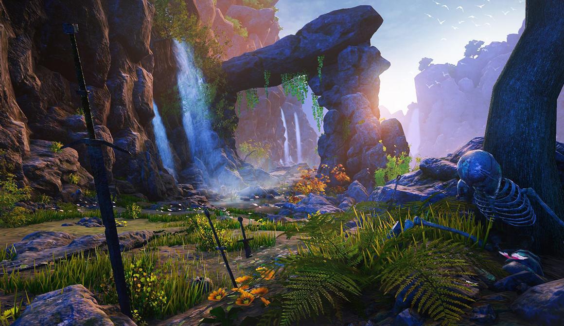 Exiled : projet bachelor animation - 3d vfx & jeux vidéo / game art