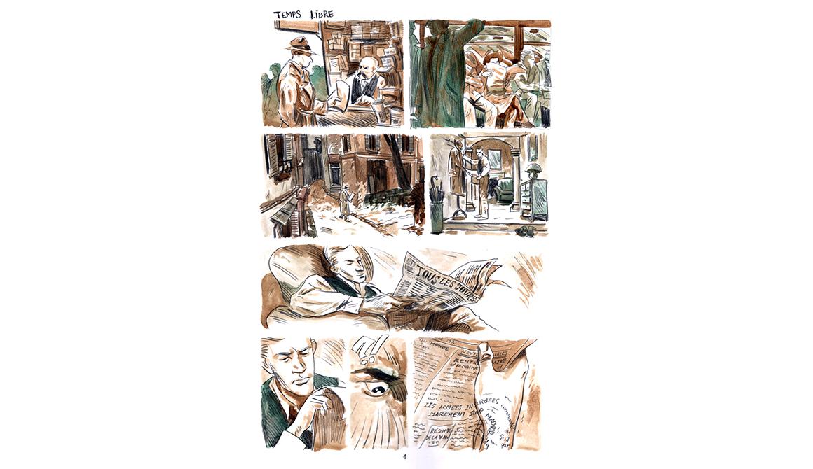 Angoulême - Temps libre : projet bachelor auteur / dessinateur de bande dessinée