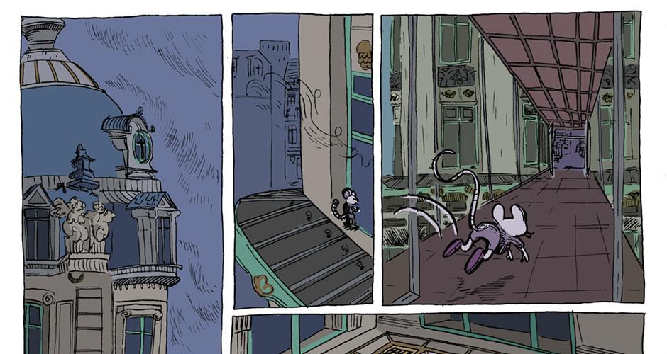 projet école bande dessinée : Le Grand-Marché