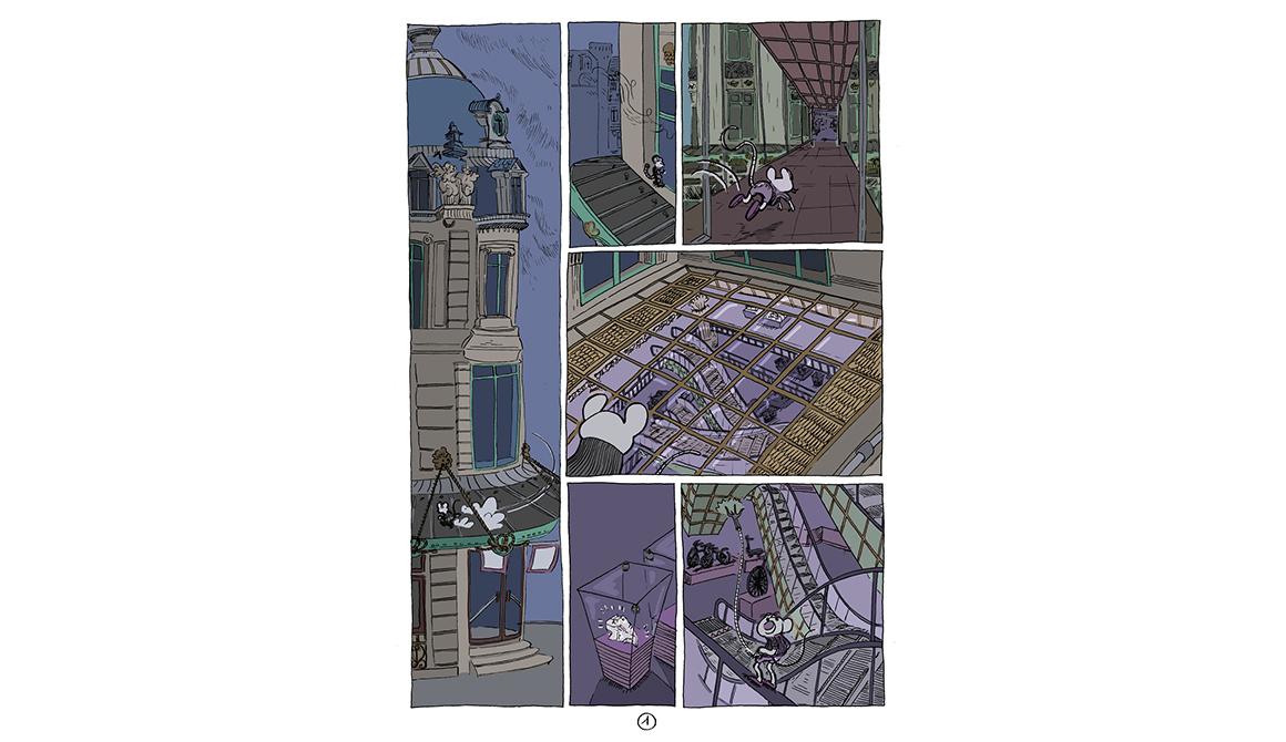 Le Grand-Marché : projet bachelor spécialisation illustration / bd