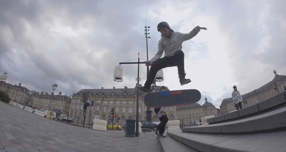 projet école audiovisuel : Le skate à Bordeaux