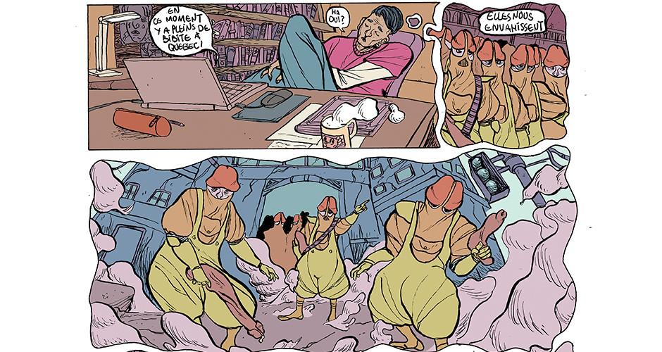projet école bande dessinée : Francobulles