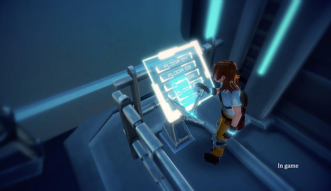 Crystal Corp - PFE : projet bachelor animation - 3d vfx & jeux vidéo / game art