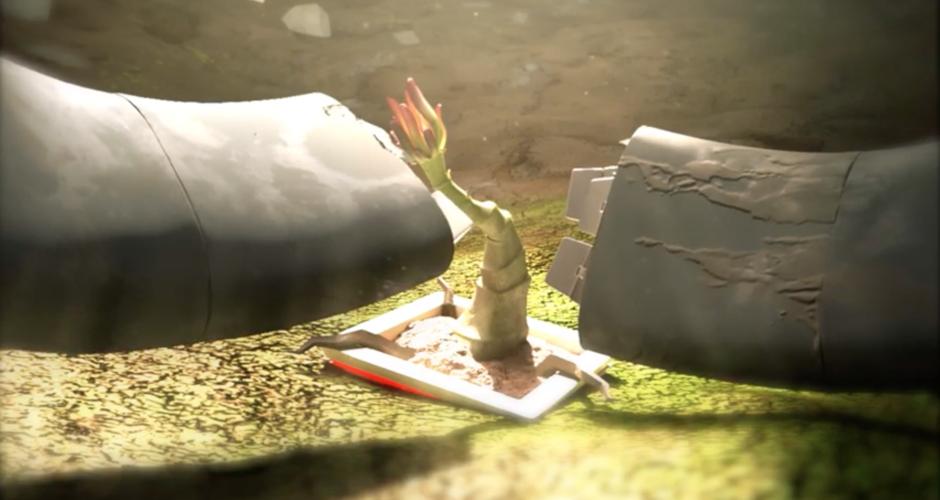 projet école cinéma d'animation 3d & vfx : The Garden