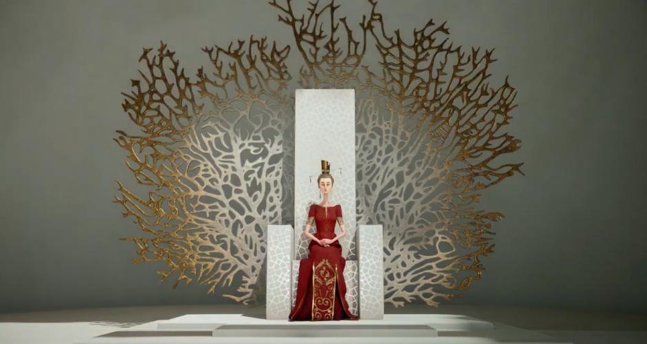 projet école cinéma d'animation 3d & vfx : La Reine Aveugle