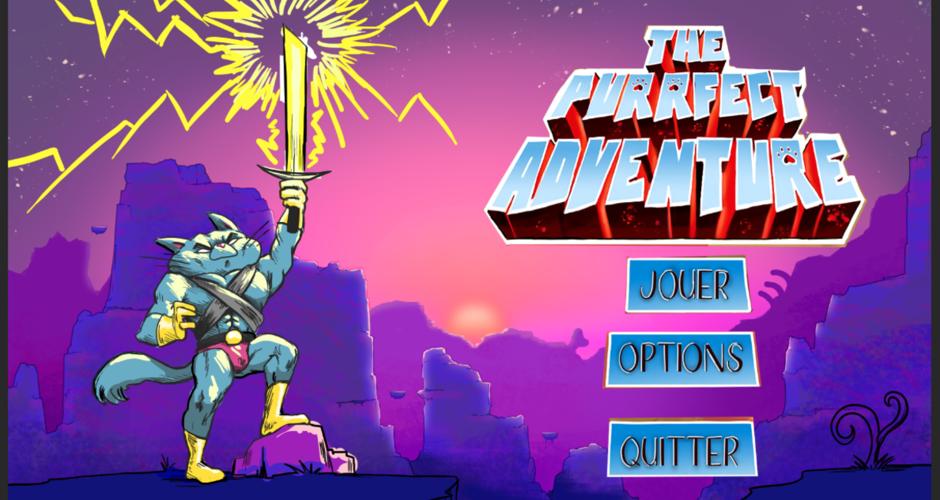 projet école jeux vidéo : Purfect Adventure