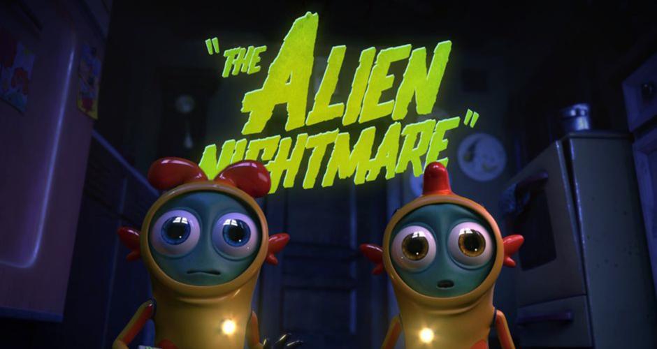 projet école cinéma d'animation 3d & vfx : The Alien Nightmare