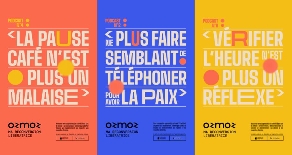projet école design graphique et digital : Ozmoz