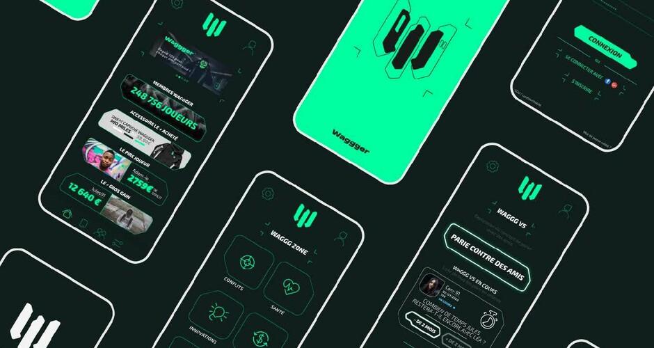 projet école design graphique et digital : Wagger
