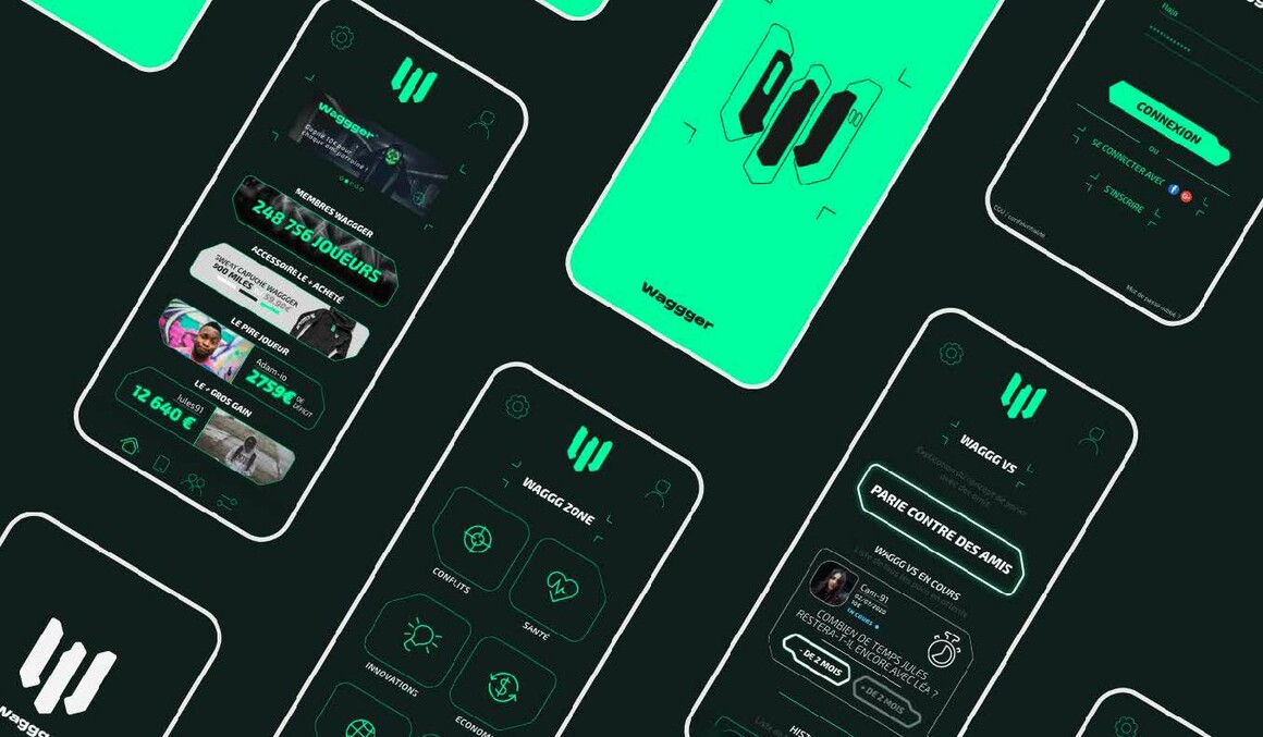 Wagger : projet bachelor design graphique et digital