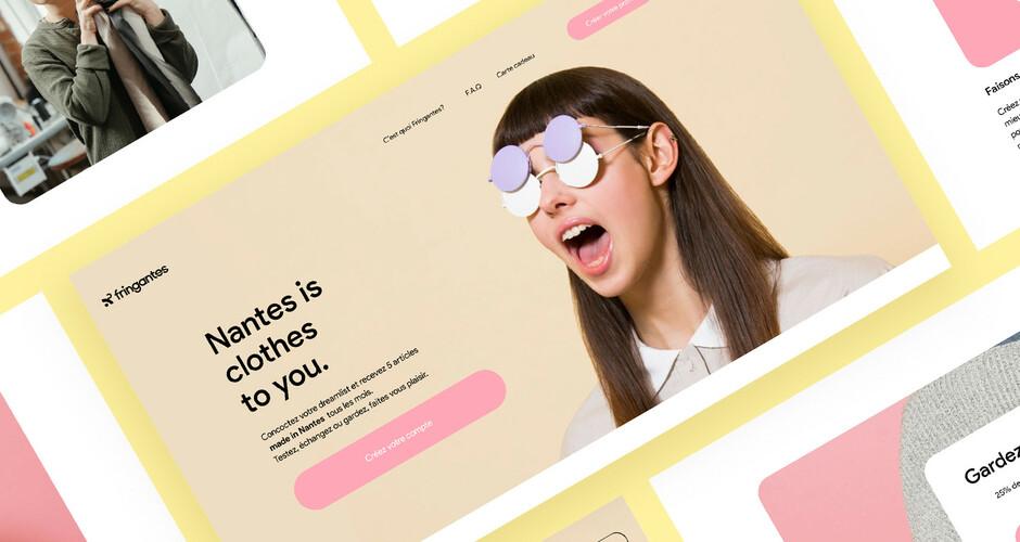 projet école design graphique et digital : Fringantes
