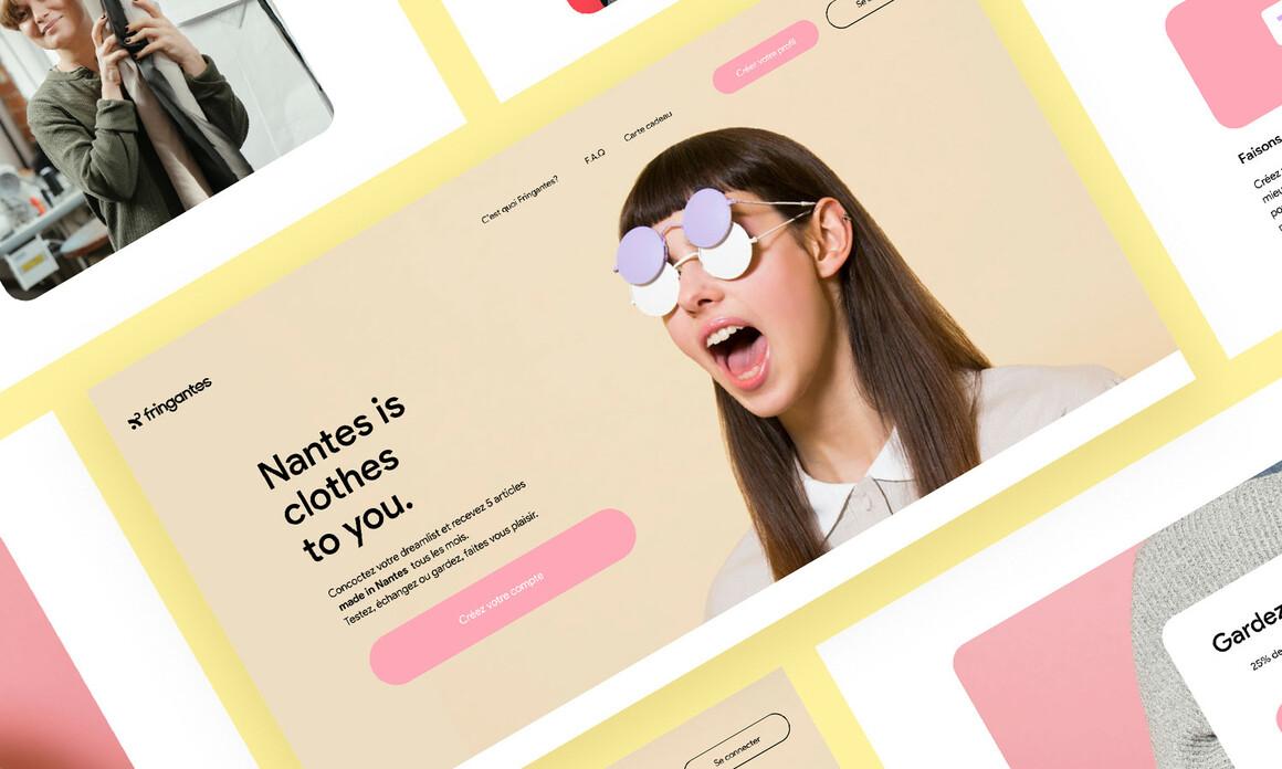 Fringantes : projet programme designer graphique et digital – bachelor