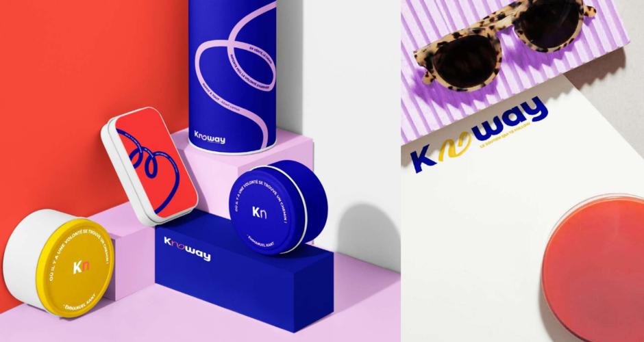 projet école design graphique et digital : Knoway