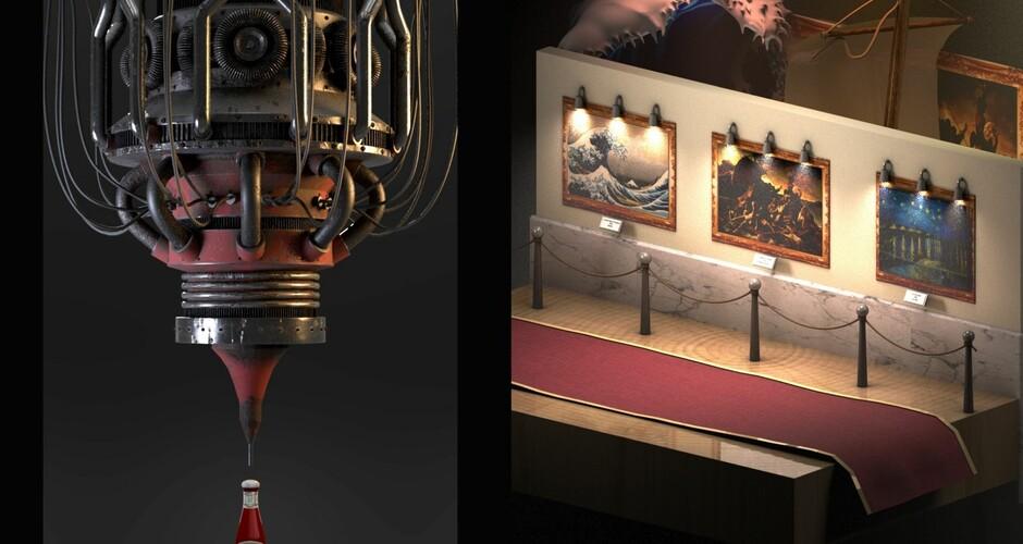 projet école cinéma d'animation 3d & vfx : L'envers du décor
