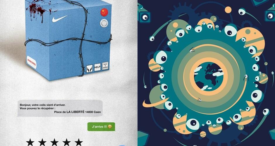 projet école design graphique et digital : L'envers du décor