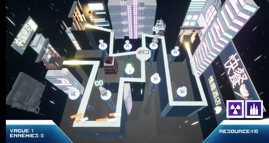 projet école jeux vidéo : Tower Defense