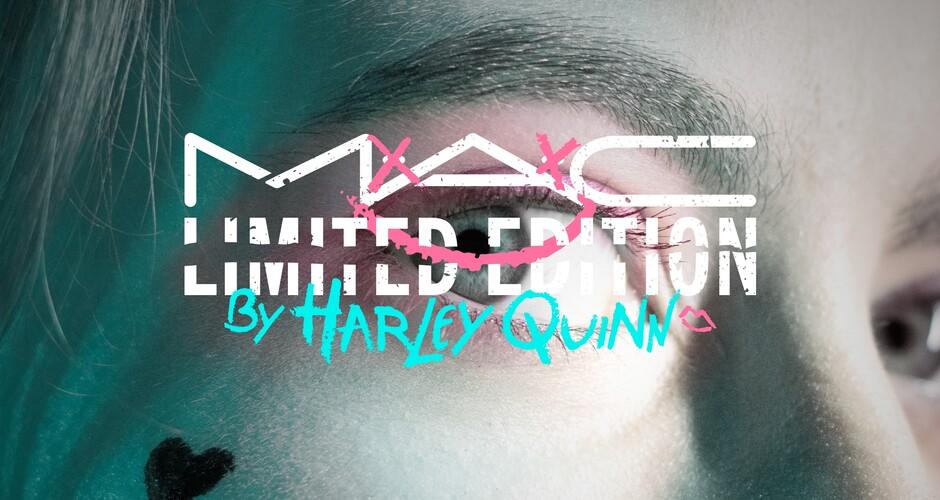 projet école design graphique et digital : Mac x Harley Quinn