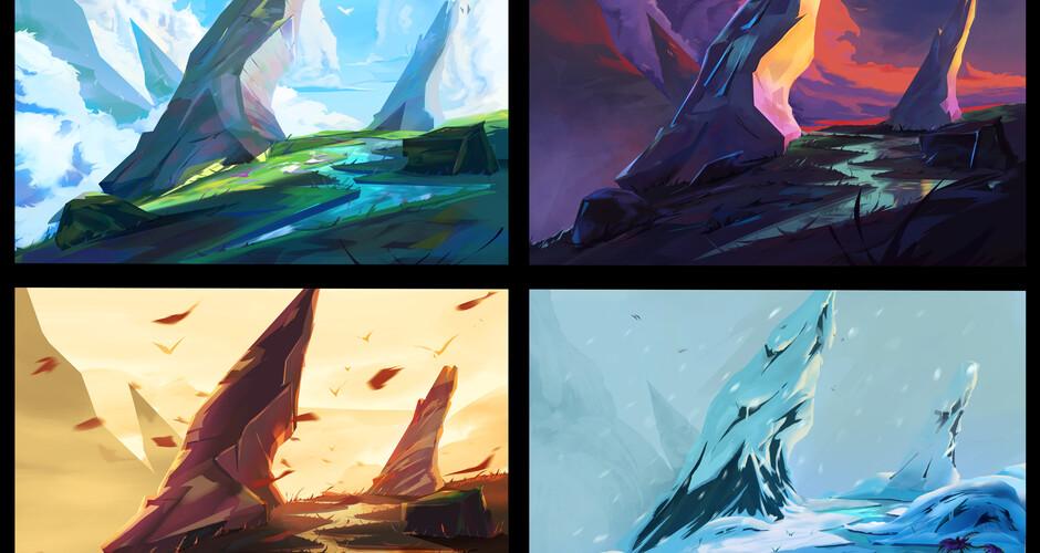 projet école cinéma d'animation 3d & vfx : Seasons