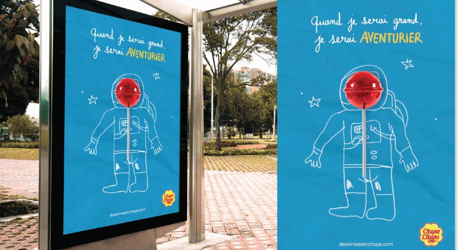 projet école design graphique et digital : Campagne publicitaire fictive