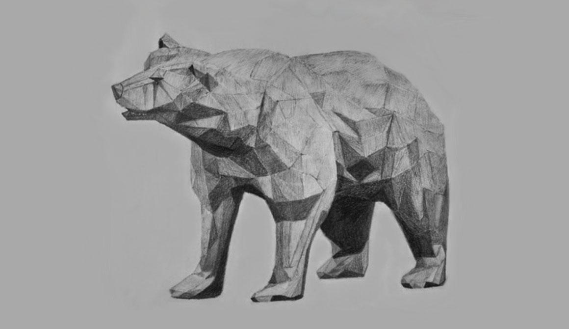 L'ours : projet classe préparatoire en arts appliqués