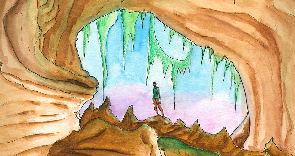 projet école classes préparatoires : Caverne