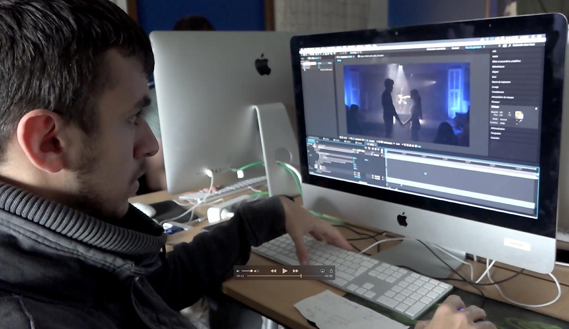 Peacefullness : projet classe préparatoire cinéma / audiovisuel