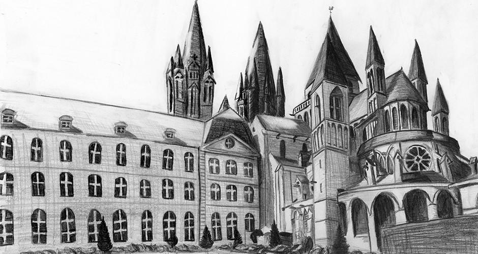 projet école classes préparatoires : Abbaye aux Hommes de Caen