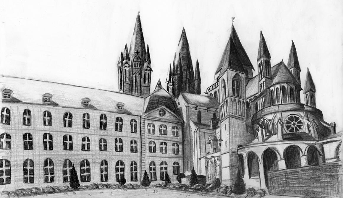 Abbaye aux Hommes de Caen : projet classe préparatoire en arts appliqués