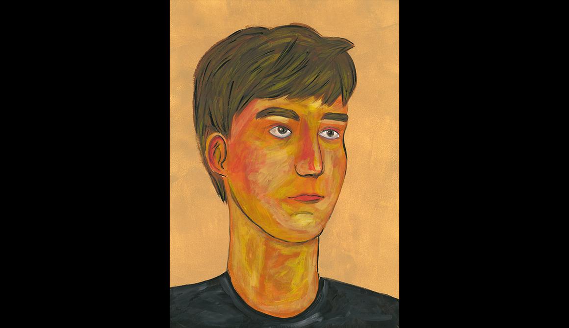 Portrait en classe : projet classe préparatoire en arts appliqués