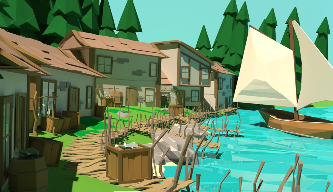 Village de pêcheurs : projet classe préparatoire en arts appliqués