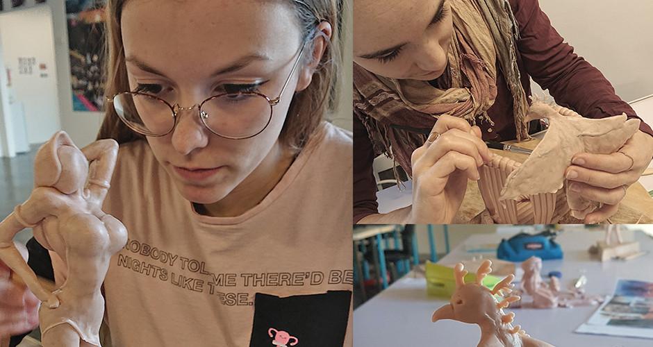 projet école classes préparatoires : Modelage