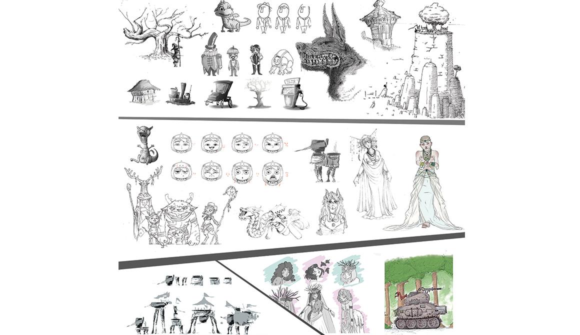 Medley : projet classe préparatoire en arts appliqués