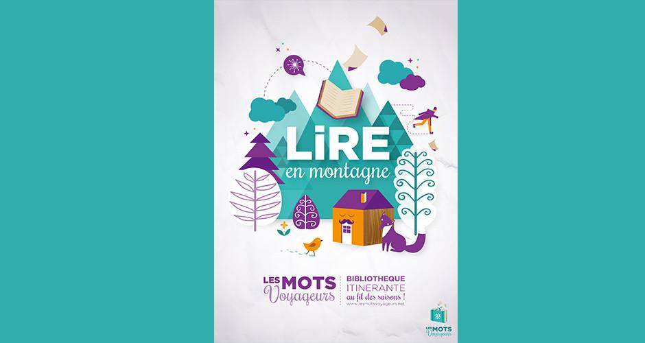 projet école design graphique et digital : Les Mots Voyageurs