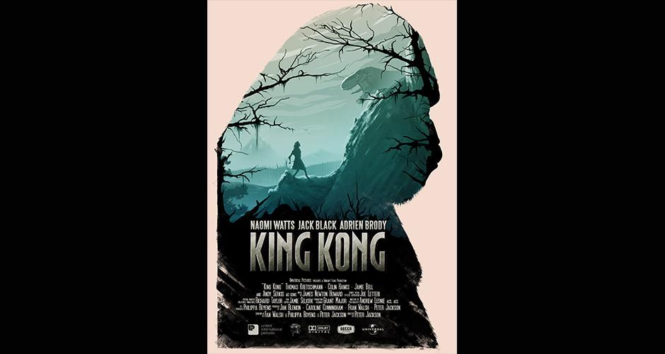 projet école design graphique et digital : King Kong