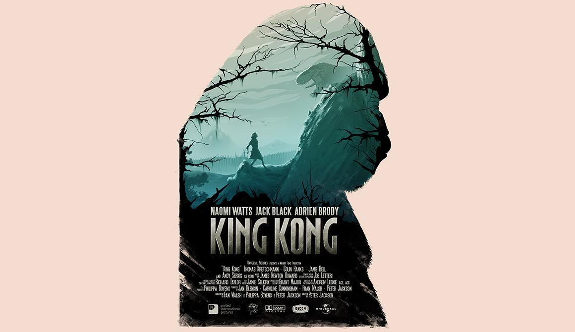 King Kong : projet bachelor design graphique et multimédia