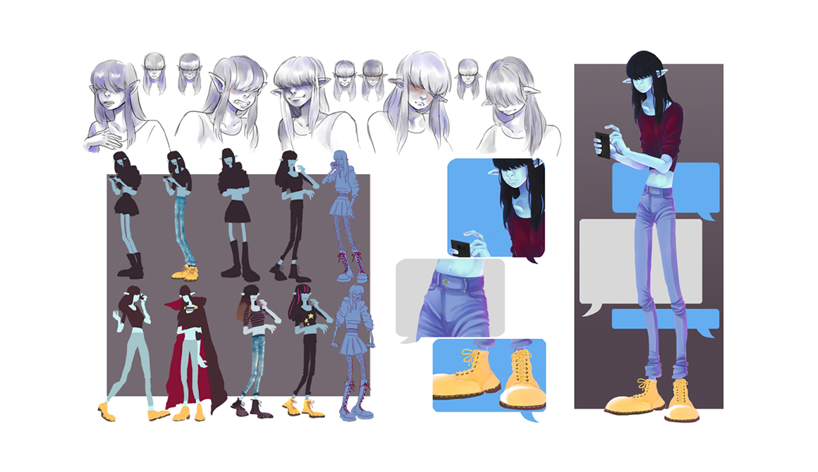 Groovie Goolies : projet bachelor animation - 3d vfx & jeux vidéo / game art